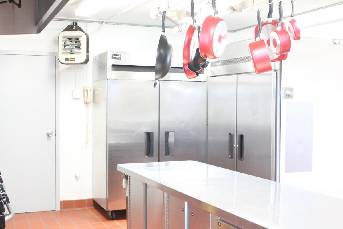 Kitchen in Packer House | Finance & Administration