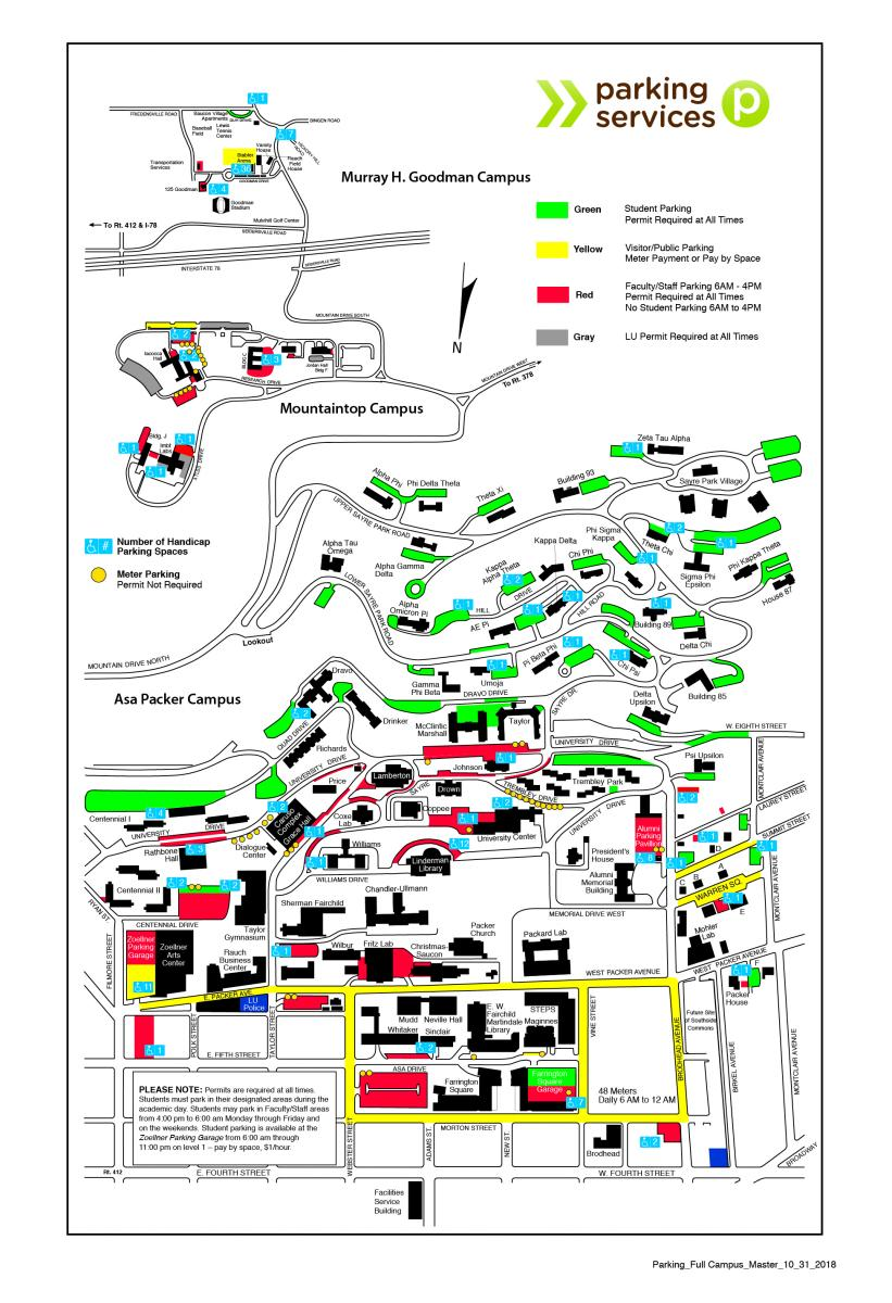 Lehigh University Map Important New Student Resources | Graduate Life