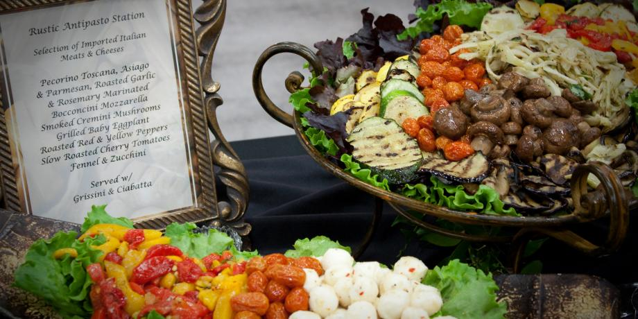 Iacocca Conference Center -Antipasto display